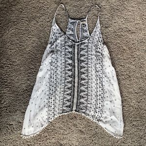 Ecote Boho Open Back Tank Top